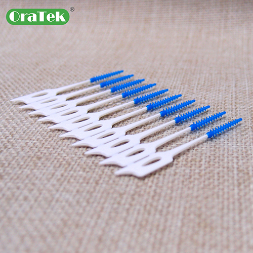 Spiral Bristle Design Soft Brush Pick